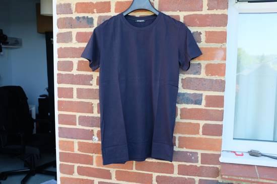 Balmain Navy Blue Distressed T-shirt Size US M / EU 48-50 / 2