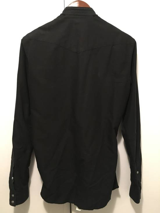 Balmain FW12 Cut Collar Shirt Size US XS / EU 42 / 0 - 7