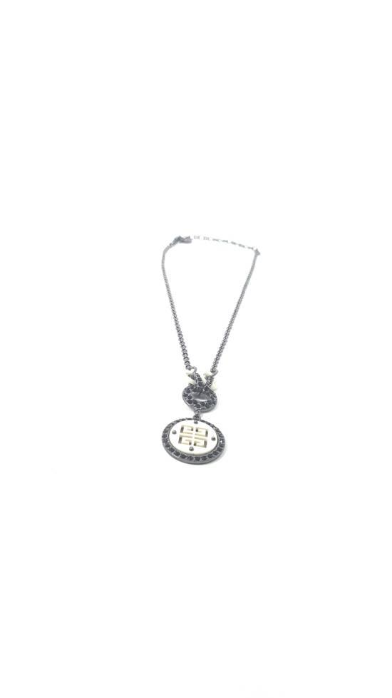 Givenchy Logo necklace doble sided Size ONE SIZE - 4