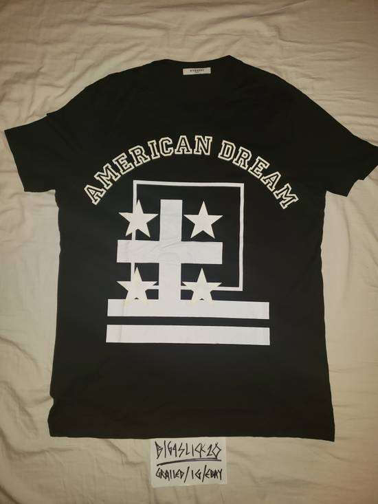 Givenchy GIVENCHY American Dream Screen Print Cut & Sew Black Tee Fits M - L Size US M / EU 48-50 / 2