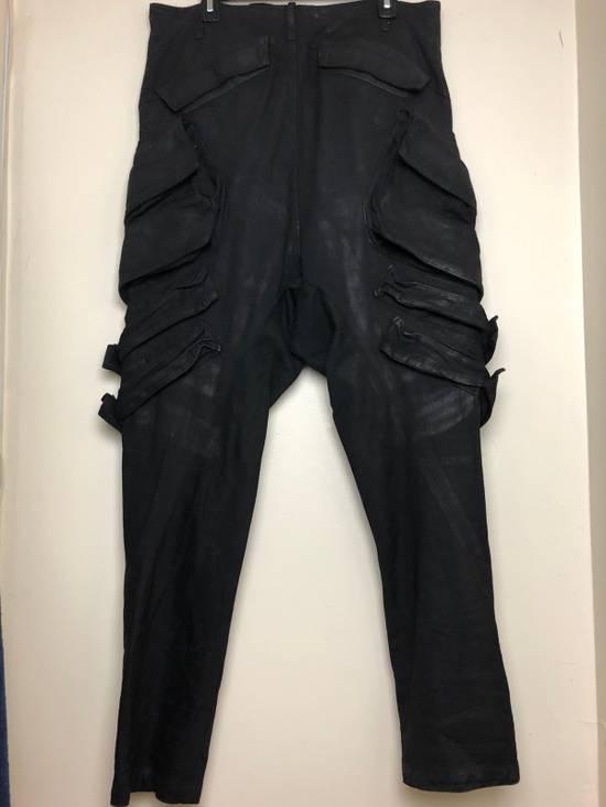 "Julius 2015 ""Prism"" Waxed Cargo Pants NEW Size US 36 / EU 52 - 4"