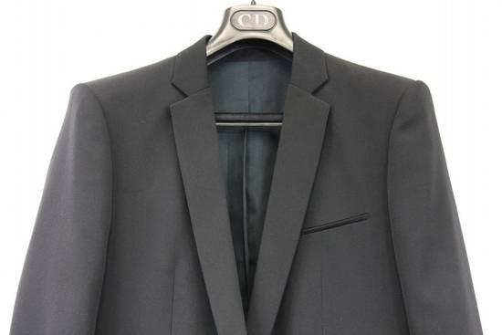Balmain $2500 Balmain Slim Black One Button Wool Blazer Jacket Blouson Sz 50 48 M Medium Size 40R
