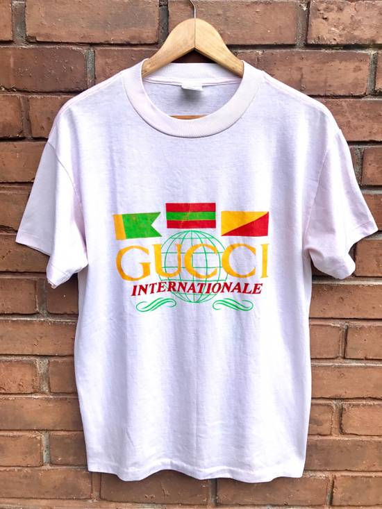 586a479a593 Gucci Vintage 90s Bootleg Gucci T Shirt Size m - Short Sleeve T ...