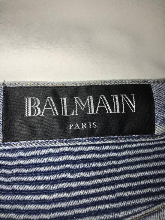 Balmain Balmain Biker Jeans (lightly Pre-Distressed) Size US 34 / EU 50 - 2