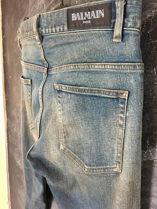 Balmain RARE AW11 Decarnin Balmain Distressed Jeans Size 28 29 30 Size US 28 / EU 44 - 8