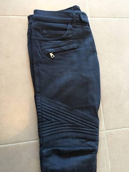 Balmain Balmain Denim Blue Biker Size US 30 / EU 46 - 5