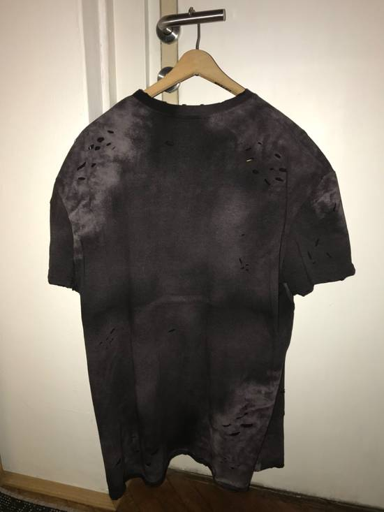 Balmain balmain oversized,distressed-t shirt Size US XL / EU 56 / 4 - 3