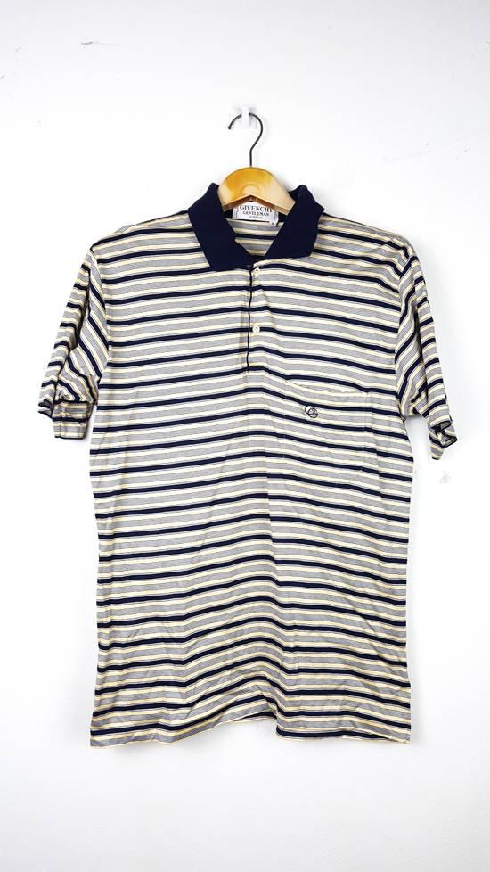 Givenchy Vintage GIVENCHY GENTLEMAN PARIS Stripes Polo Shirt Size US S / EU 44-46 / 1