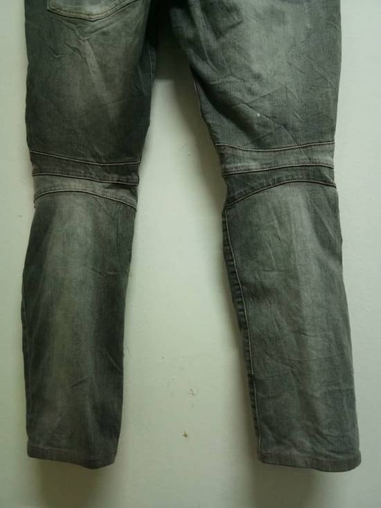 Balmain Rare Grey Balmain Denim Nice Faded Design Size US 36 / EU 52 - 5