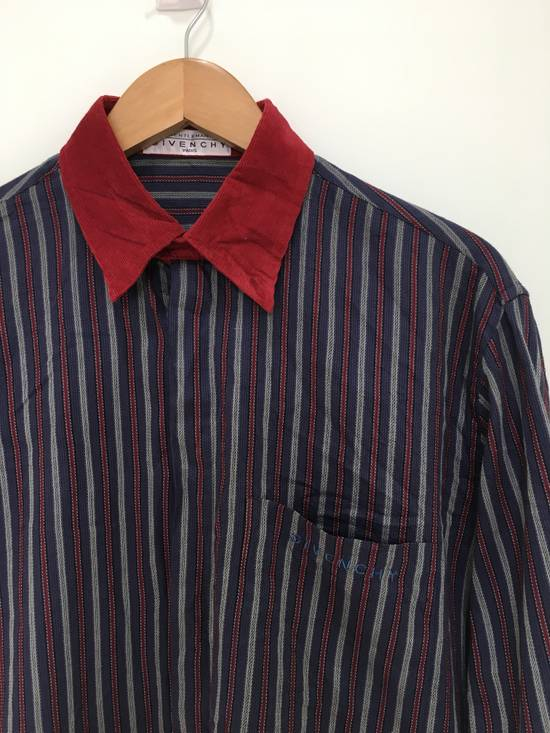 Givenchy Gentleman Givenchy Indigo Red Stripes Casual Shirt Made in Italy Size US M / EU 48-50 / 2 - 1