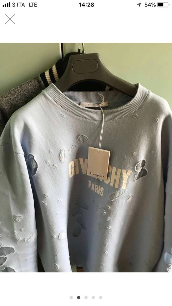 Givenchy Distressed Logo Sweatshirt Size US XL / EU 56 / 4 - 5