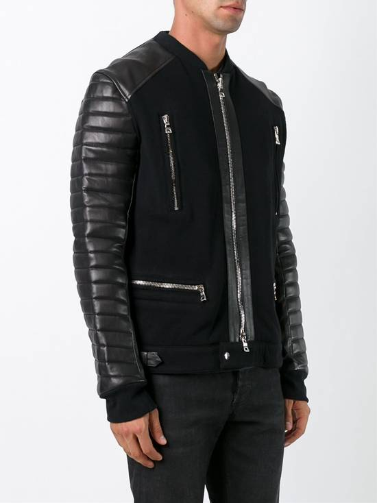 Balmain Balmain Leather Jacket Size US M / EU 48-50 / 2 - 2