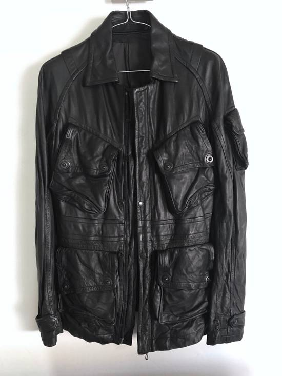 Julius LAST DROP! Julius GASMASK Leather Jacket Size US S / EU 44-46 / 1