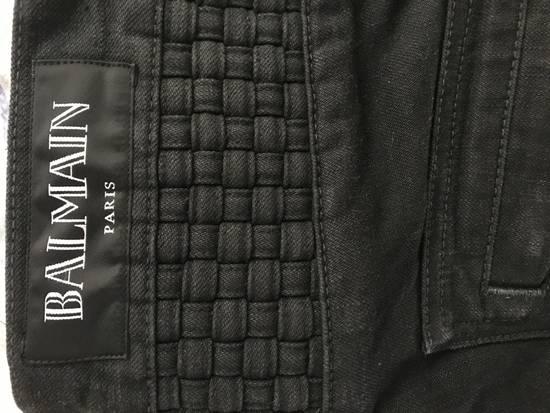 Balmain Balmain Black Biker Jeans LAST PRICE DROP !!! Size US 31 - 2