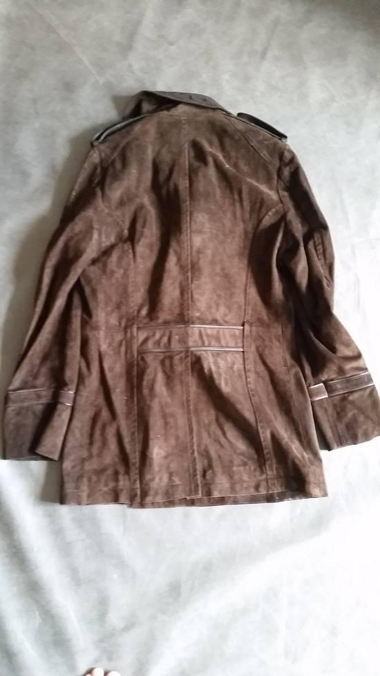 Saint Laurent Paris YSL by Tom Ford suede officer coat Size US S / EU 44-46 / 1 - 2