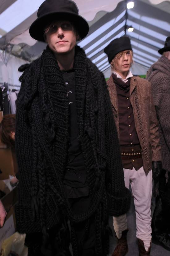 Ann Demeulemeester F/W09 'Eleanor' Cardigan Size US L / EU 52-54 / 3 - 4