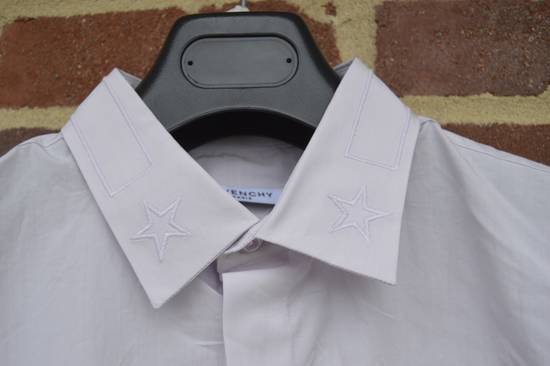 Givenchy Pale Pink Stars on Collar Shirt Size US L / EU 52-54 / 3 - 4