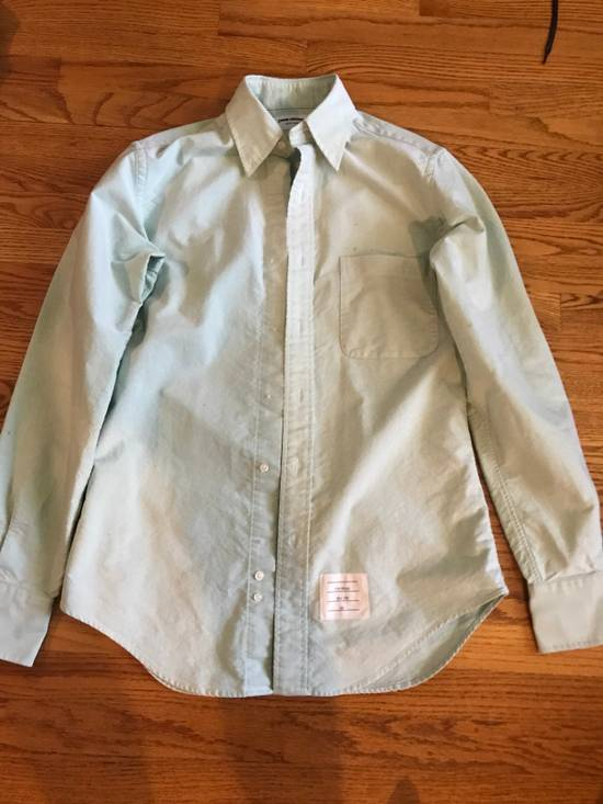 Thom Browne Sea foam Green Oxford (sample) Size US S / EU 44-46 / 1
