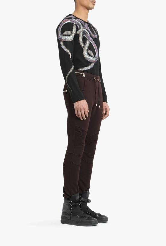Balmain Balmain Authentic $930 Bordeaux Sweatpants Jogger Size L Brand New Size US 34 / EU 50