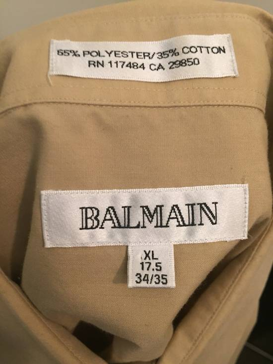Balmain Beige button down Size US XL / EU 56 / 4 - 2