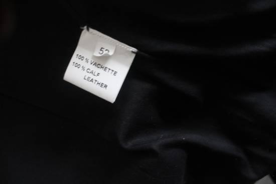Balmain SS11 Decarnin Teddy Varsity Black Leather Jacket Kanye West 1of1 Size US L / EU 52-54 / 3 - 8