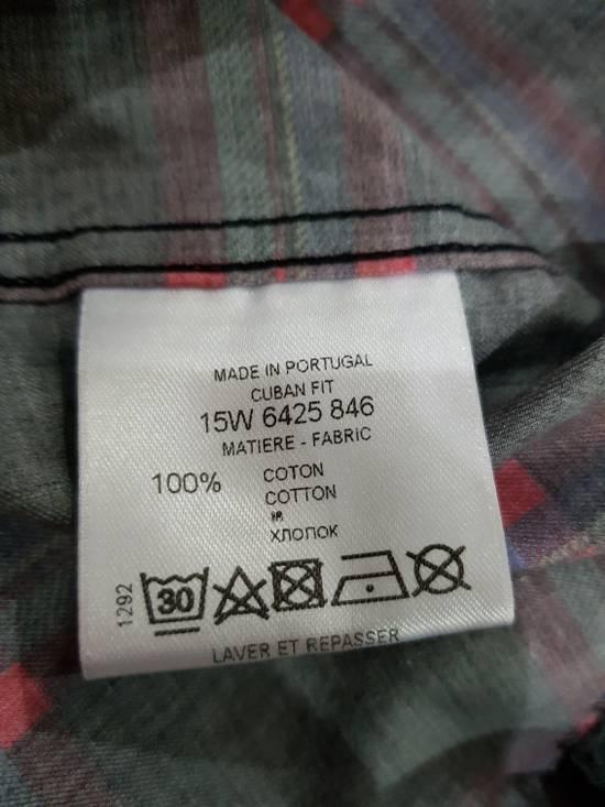 Givenchy Purple Plaid Shirt Size US M / EU 48-50 / 2 - 3