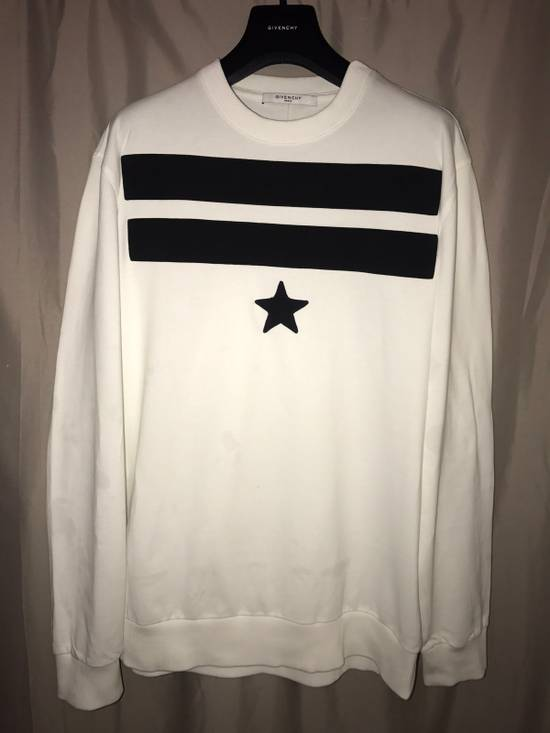Givenchy Givenchy white and Black Sweater Size US M / EU 48-50 / 2 - 2
