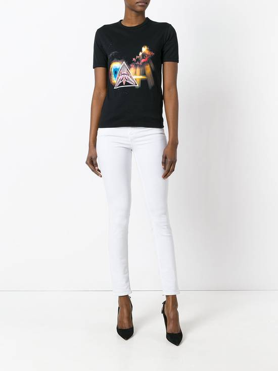 Givenchy $590 Givenchy Iconic Eye Print Rottweiler Bambi Stars Women's T-shirt size XS Size US XS / EU 42 / 0 - 4
