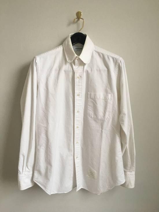 Thom Browne Classic White Shirt round collar Size US L / EU 52-54 / 3