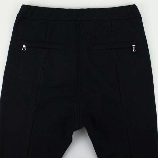 Balmain Men's Black Cashmere with Drawstrings Jogger Pants Size Large Size US 36 / EU 52 - 4