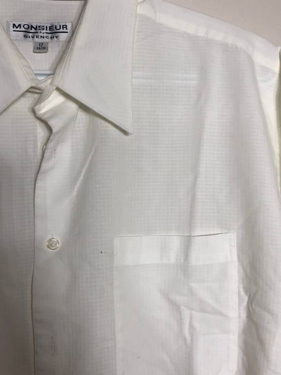 Givenchy White Ripstop Long sleeve Button down Size US XL / EU 56 / 4 - 2