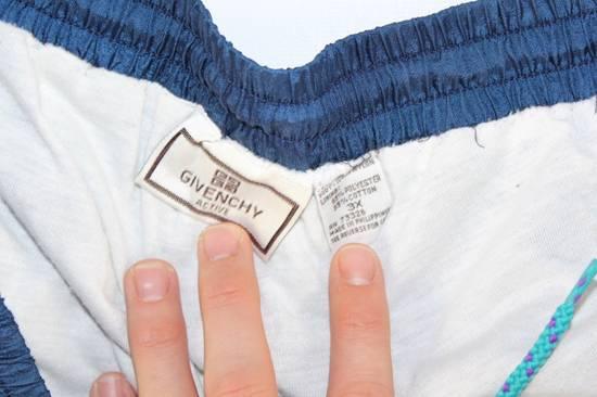 Givenchy Vintage 90s GIVENCHY Mens 3XL Casual Lined Nylon Joggers Jogger Pants Blue Size US 36 / EU 52 - 2