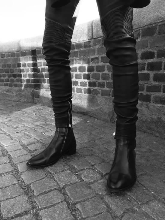 Balmain Leather Sweatpants Size S Size US 30 / EU 46 - 8