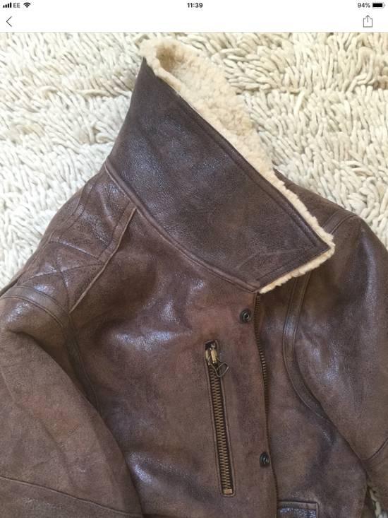 Balmain Balmain Shearling Lined Aviator Jacket Size US M / EU 48-50 / 2 - 6