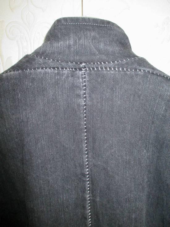 Carol Christian Poell 07 Male Overlock Grey Fencing Jacket