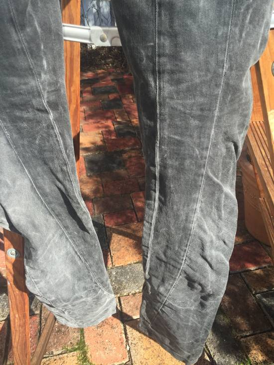 Julius AW10 Goth_ik Spiral Leg Zip Hem Denim Size US 30 / EU 46 - 9