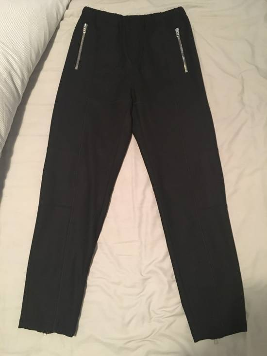 Givenchy Zip-detail Wool Joggers Size US 28 / EU 44