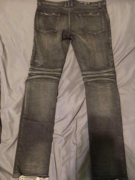 Balmain Balmain Black Biker Jeans Size 32 Size US 32 / EU 48 - 5