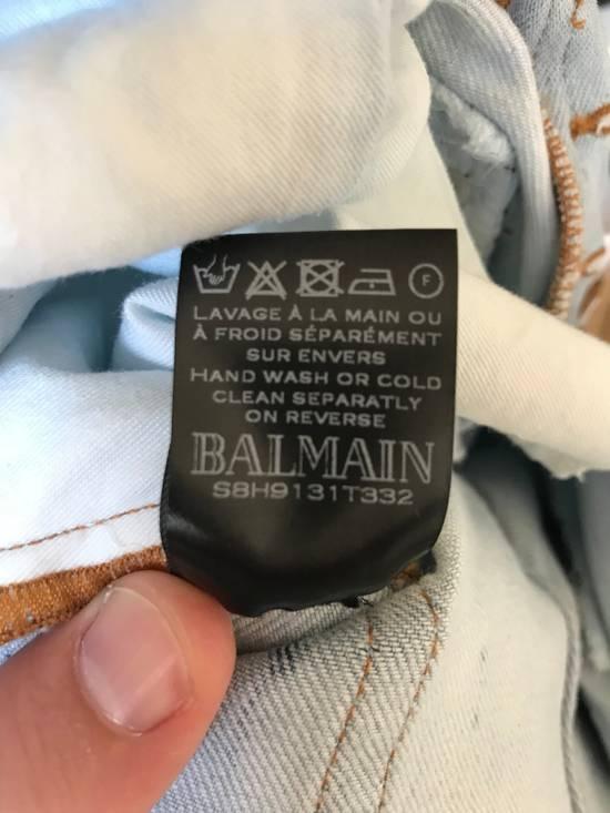 Balmain Biker Jeans SS18 Size US 36 / EU 52 - 8