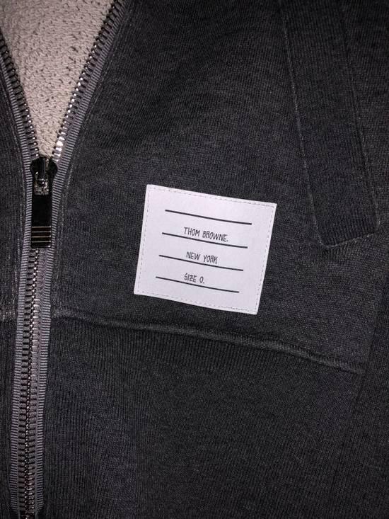Thom Browne Hoodie in Dark Grey Size US XS / EU 42 / 0 - 1