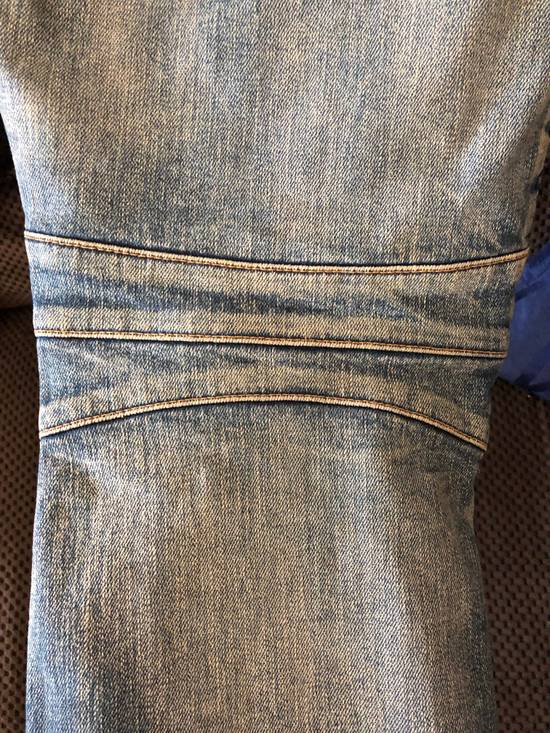 Balmain Balmain disrtressed biker jeans Size US 36 / EU 52 - 10