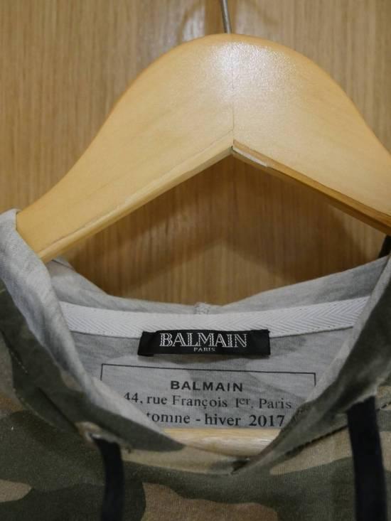 Balmain BM JER HOODIE CAMO M GREEN Size US M / EU 48-50 / 2 - 2