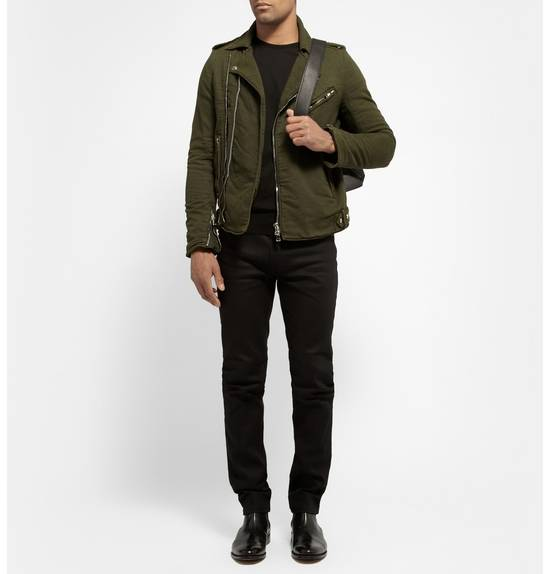 Balmain Balmain Green Cotton Twill Size US S / EU 44-46 / 1