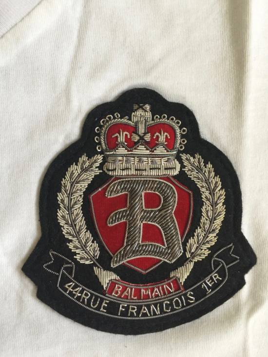 Balmain Balmain White V neck shirt Size US S / EU 44-46 / 1 - 1