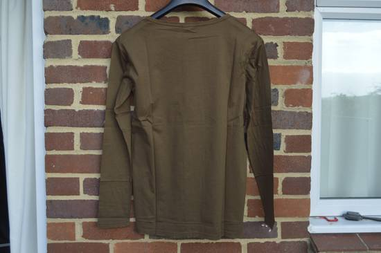 Balmain Brown Distressed Long Sleeve T-shirt Size US M / EU 48-50 / 2 - 6