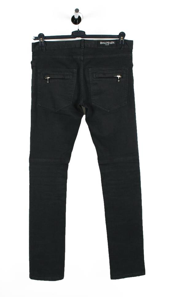 Balmain Original Balmain Paris Skinny Grey Men Biker Jeans in size 30 Size US 30 / EU 46 - 3