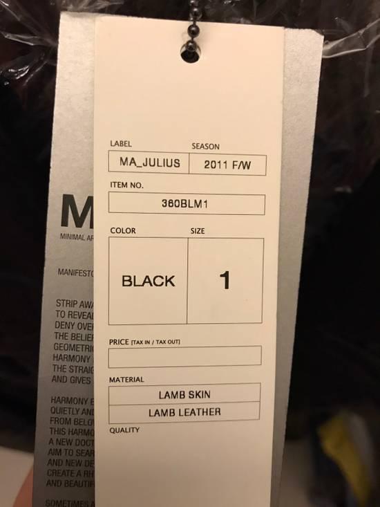 Julius MA_Julius Leather Jacket 2011AW Size US S / EU 44-46 / 1 - 5