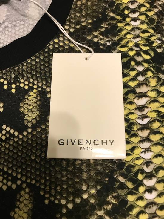 Givenchy Snakeskin Print Cotton T-Shirt Size US XL / EU 56 / 4 - 1