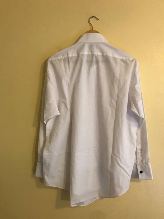 Balmain White Tux Button Up Shirt Size US L / EU 52-54 / 3 - 1
