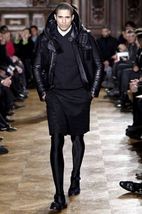 Givenchy Final price AW10 oversized hood leather jacket Size US S / EU 44-46 / 1